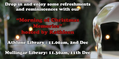 Morning of Christmas Memories tickets