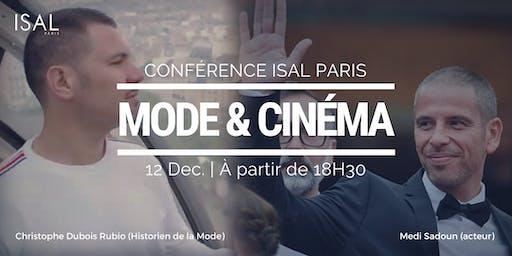 Conférence Mode & Cinéma