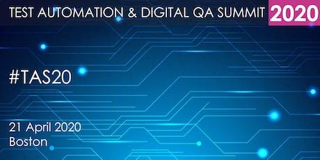 Test Automation and Digital QA Summit 2020 - Boston tickets