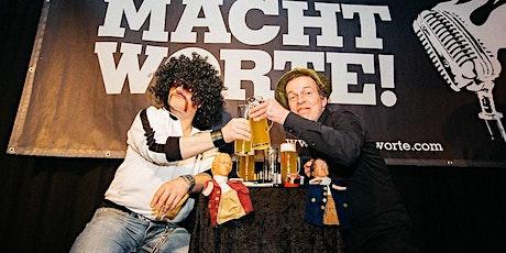 """""""Macht Worte!"""" - The Finest Tickets"""