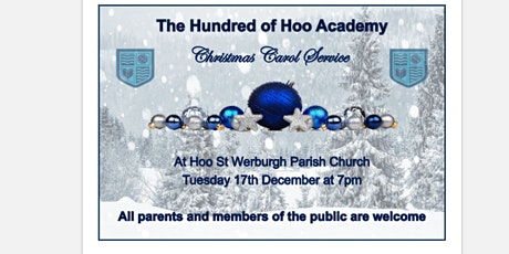 The Hundred of Hoo Christmas Carol Service - Primary Tickets tickets
