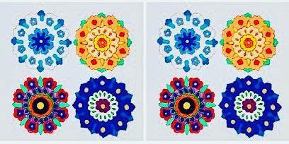 MACFEST: Persian Motif painting workshop with Ashfia Ashriff: demonstration