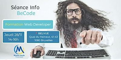 Séance Info – Formation Web Developer