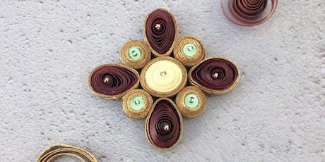 Paper Filigree Jewellery Workshop tickets