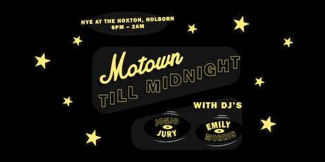 Motown Till Midnight tickets