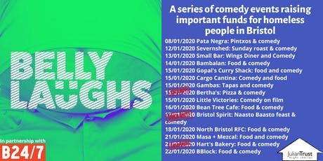 Belly Laughs with Bristol24/7 at  BBlock: Food and Comedy tickets