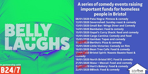 Belly Laughs with Bristol24/7 at  Small Bar: Wings Diner and Comedy
