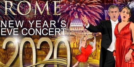 New year's eve concert in Rome biglietti