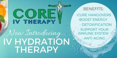 Core IV Therapy - Addiction iV Hydration Therapy