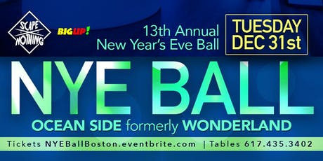 NYE BALL Boston - New Year's Eve Ball at Ocean SIde tickets
