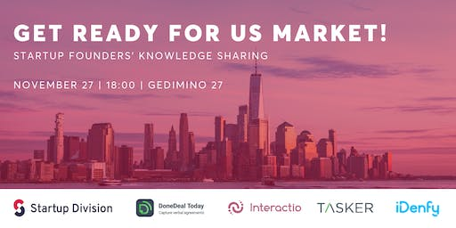 Get ready for US market! Startup Founders' Knowledge Sharing