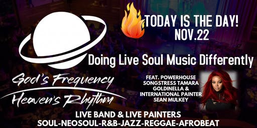 Free Entry for November Birthdays: Live Band : Soul, R&B, Reggae, Jazz
