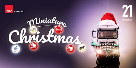Miniature Christmas tickets