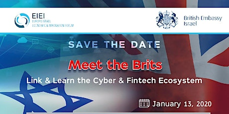Meet The Brits - Link & Learn into the Fintech & Cyber Ecosystem tickets