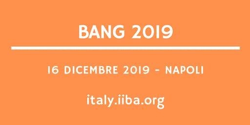 BANG 2019 - Inclusività, accessibilità, innovazione, big data