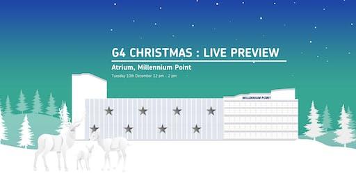 G4 Christmas: Live Preview @ Millennium Point