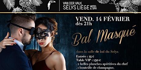 Soirée Bal masqué 14/02 billets