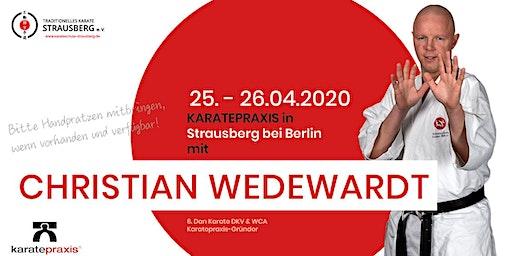 KARATEPRAXIS Lehrgang mit Christian Wedewardt