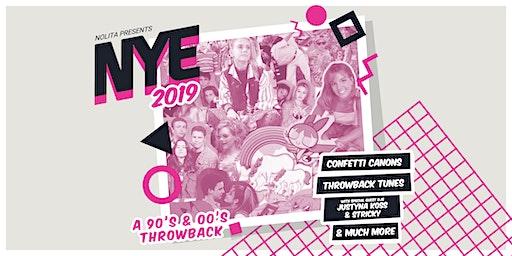 NYE 2019 - A 90's/00's THROWBACK AT NOLITA