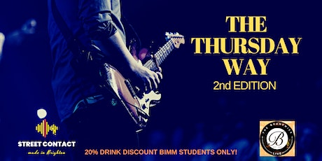 THE THURSDAY WAY 2nd EDITION tickets