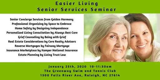 Easier Living a Senior Services Seminar