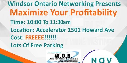 Build Your Business Series - Maximize Your Profitability