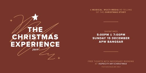 """Volunteers for """"The Christmas Experience 2019"""""""