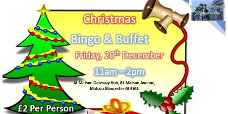 Christmas Bingo & Buffet tickets