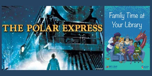 Tullamore Library Polar Express Family Story Time 6.30pm