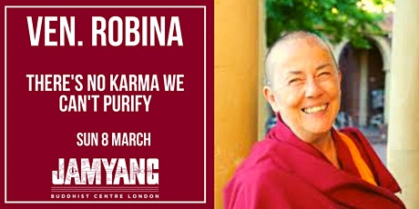 Ven. Robina Courtin 'There's no karma we can't purify' tickets