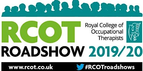 RCOT Roadshow 2019/20 Occupational Therapy: Small Change, Big Impact tickets