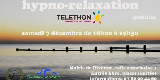 Hypno-relaxation le 7 décembre à Divonne pour le Téléthon