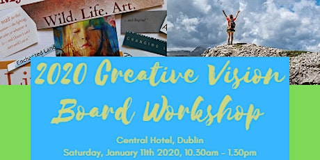 2020 Creative Vision Board Workshop tickets