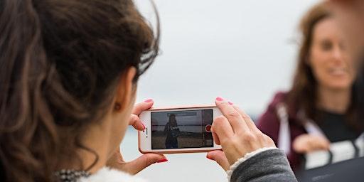 Iphone filmmaking workshop for social media