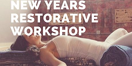 New Years Restorative Yoga Workshop tickets