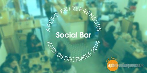 Apéro Entrepreneurs Paris @ Le Social Bar | Jeudi 5 décembre 2019