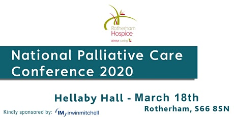 National Palliative Care Conference 2020 tickets