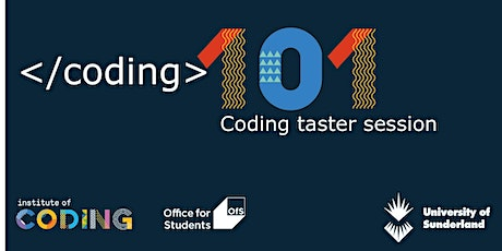 Coding 101 - Coding for beginners tickets