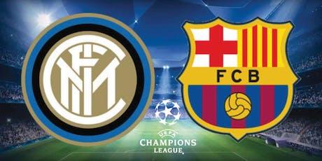 La Champions es juga al Campus: Inter de Milà – FC Barcelona entradas