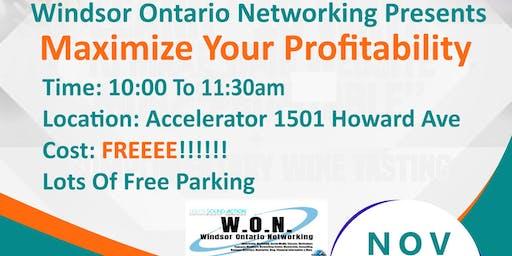 Build Your Business Series - Maximize Your Profitablilty