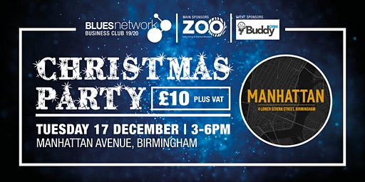 Blues Network Business Club - Christmas Special sponsored by Buddy CRM