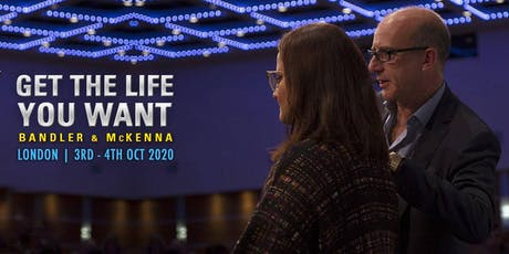 Richard Bandler and Paul Mckenna Get The Life You Want tickets