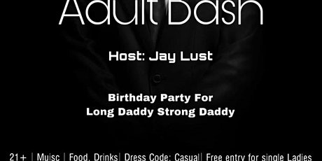 The Adult Bash tickets