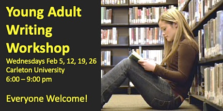 Young Adult Writing Workshop tickets