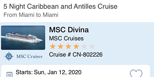$99* Caribbean Cruise - 5 Days - Free Air