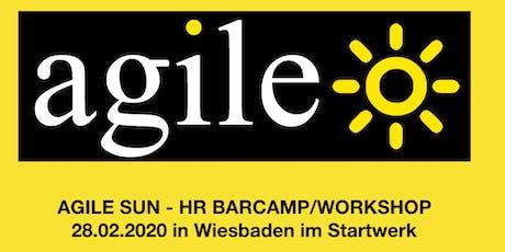 Agile Sun - HR Barcamp/Workshop Tickets