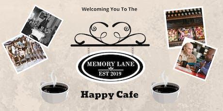 Memory Lane  Happy Cafe Launch Event bilhetes