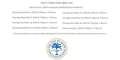 Jose Marti Pool Level 3 Tuesday/Thursday (7:00PM-7:45PM) December