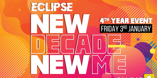 Eclipse Presents: New Year New Me at Tamango Nightclub | Jan 3rd