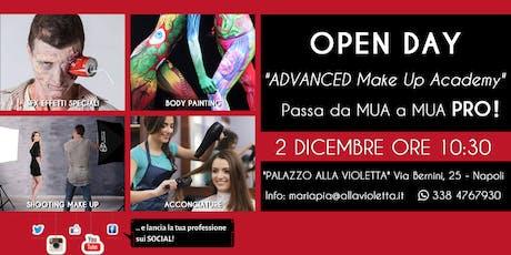 Open Day - ADVANCED Make Up Academy Alla Violetta biglietti